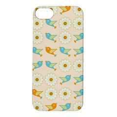 Birds And Daisies Apple Iphone 5s/ Se Hardshell Case