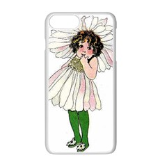 Daisy Vintage Flower Child Cute Funny Floral Little Girl Apple Iphone 7 Plus White Seamless Case