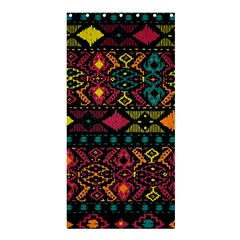 Bohemian Patterns Tribal Shower Curtain 36  x 72  (Stall)