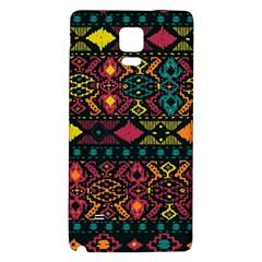 Bohemian Patterns Tribal Galaxy Note 4 Back Case