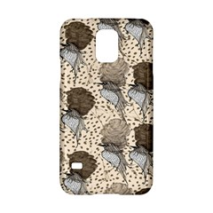 Bouffant Birds Samsung Galaxy S5 Hardshell Case