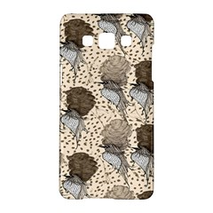 Bouffant Birds Samsung Galaxy A5 Hardshell Case