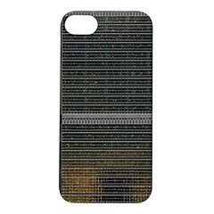 Building Pattern Apple iPhone 5S/ SE Hardshell Case