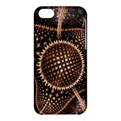 Brown Fractal Balls And Circles Apple iPhone 5C Hardshell Case