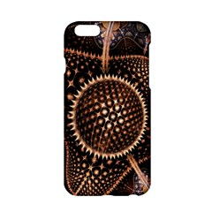 Brown Fractal Balls And Circles Apple iPhone 6/6S Hardshell Case