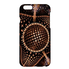 Brown Fractal Balls And Circles Apple iPhone 6 Plus/6S Plus Hardshell Case