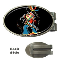 Carnaval  Money Clips (Oval)