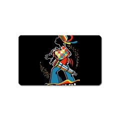 Carnaval  Magnet (Name Card)