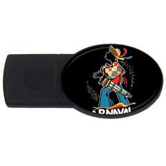 Carnaval  USB Flash Drive Oval (2 GB)