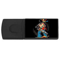Carnaval  Usb Flash Drive Rectangular (4 Gb)