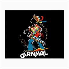 Carnaval  Small Glasses Cloth (2-Side)