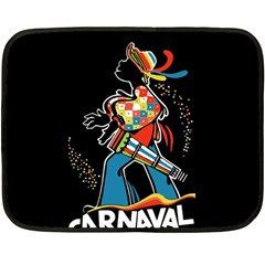 Carnaval  Double Sided Fleece Blanket (Mini)