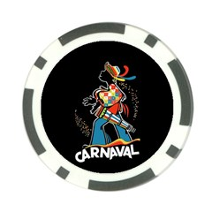 Carnaval  Poker Chip Card Guard (10 pack)