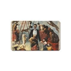 Dog circus Magnet (Name Card)