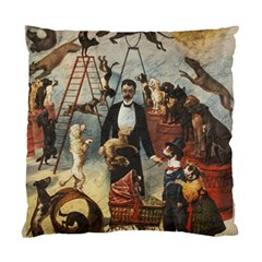 Dog circus Standard Cushion Case (Two Sides)