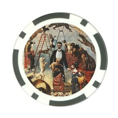 Dog circus Poker Chip Card Guard (10 pack)