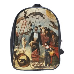Dog Circus School Bags(large)
