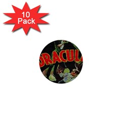 Dracula 1  Mini Buttons (10 pack)