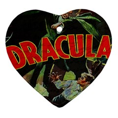 Dracula Heart Ornament (Two Sides)