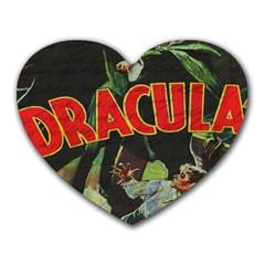 Dracula Heart Mousepads