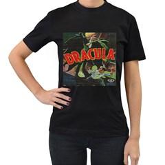 Dracula Women s T-Shirt (Black)