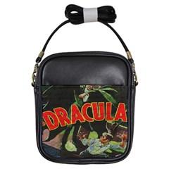 Dracula Girls Sling Bags