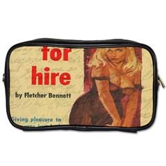 Vintage girl Toiletries Bags 2-Side
