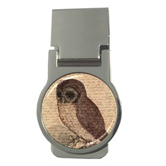 Vintage owl Money Clips (Round)