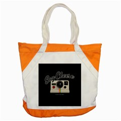 Say Cheese Accent Tote Bag