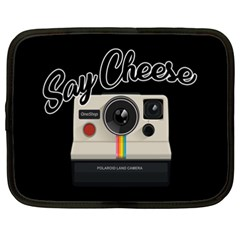 Say Cheese Netbook Case (XXL)
