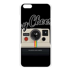 Say Cheese Apple Seamless iPhone 6 Plus/6S Plus Case (Transparent)