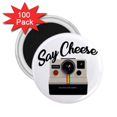 Say Cheese 2.25  Magnets (100 pack)