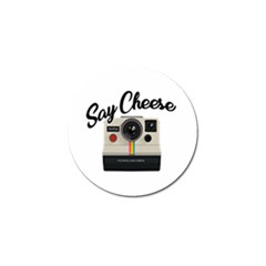 Say Cheese Golf Ball Marker