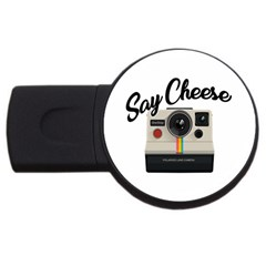 Say Cheese USB Flash Drive Round (1 GB)