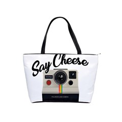 Say Cheese Shoulder Handbags