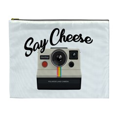 Say Cheese Cosmetic Bag (XL)