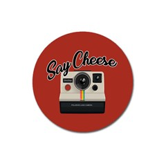 Say Cheese Magnet 3  (Round)