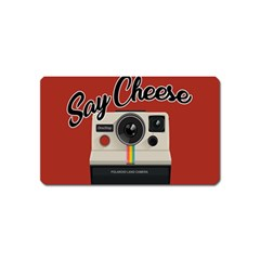 Say Cheese Magnet (Name Card)