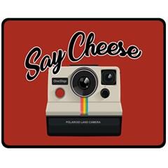 Say Cheese Fleece Blanket (Medium)
