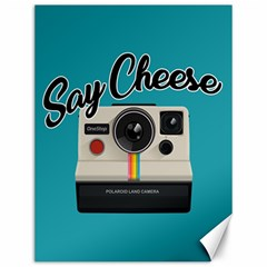 Say Cheese Canvas 12  x 16