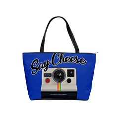 Say Cheese Shoulder Handbags