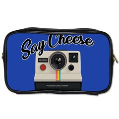 Say Cheese Toiletries Bags 2-Side