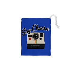 Say Cheese Drawstring Pouches (XS)