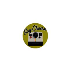 Say Cheese 1  Mini Buttons