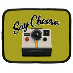 Say Cheese Netbook Case (Large)