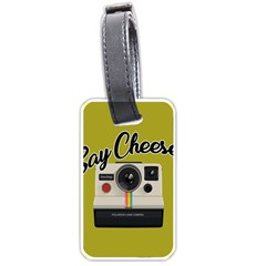 Say Cheese Luggage Tags (One Side)