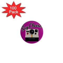 Say Cheese 1  Mini Magnets (100 pack)