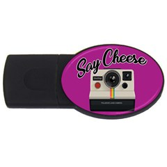 Say Cheese USB Flash Drive Oval (1 GB)