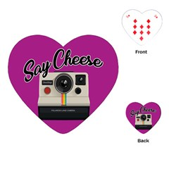 Say Cheese Playing Cards (Heart)