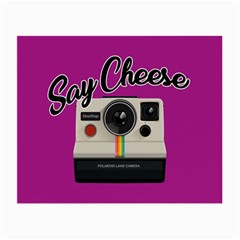 Say Cheese Small Glasses Cloth (2-Side)